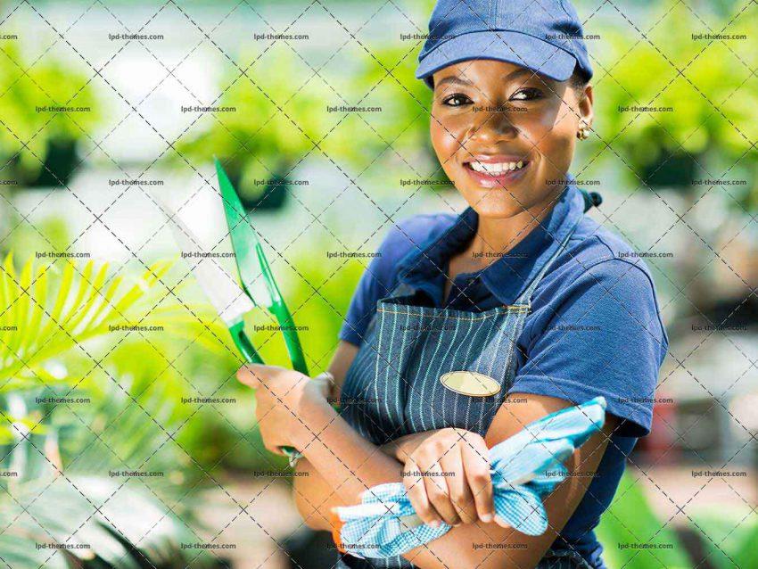 African American Gardener