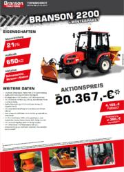 Branson 2200 Aktion Traktor - Kompakttraktor - Winterdienst