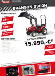 Branson 2900H Aktion Traktor - Kompakttraktor - Herbstaktion