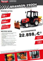 Branson 2900H Aktion Traktor - Kompakttraktor - Winterdienst