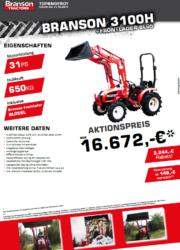 Branson 3100H Aktion Traktor - Kompakttraktor - Herbstaktion