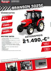 Branson 5025C Aktion Traktor - Kompakttraktor - Herbstaktion