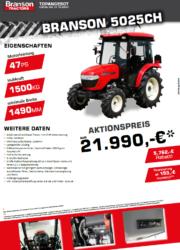 Branson 5025CH Aktion Traktor - Kompakttraktor - Herbstaktion