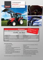 Branson 5025CX Aktion Traktor - Kompakttraktor - Herbstaktion