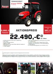 BRANSON 5025Ch Kompakttraktor Aktion August 2017