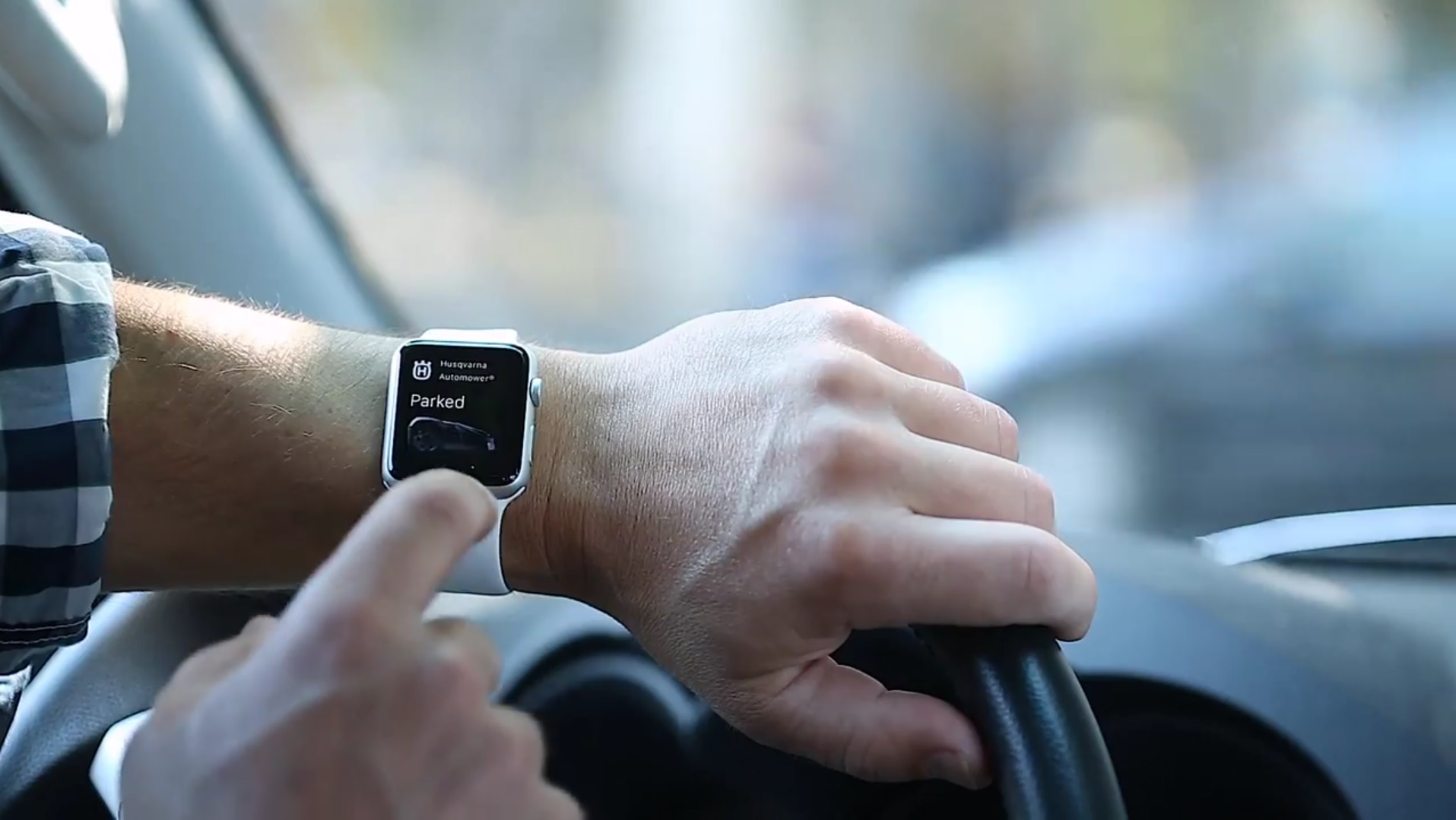 Husqvarna Automower Connect - Apple Watch