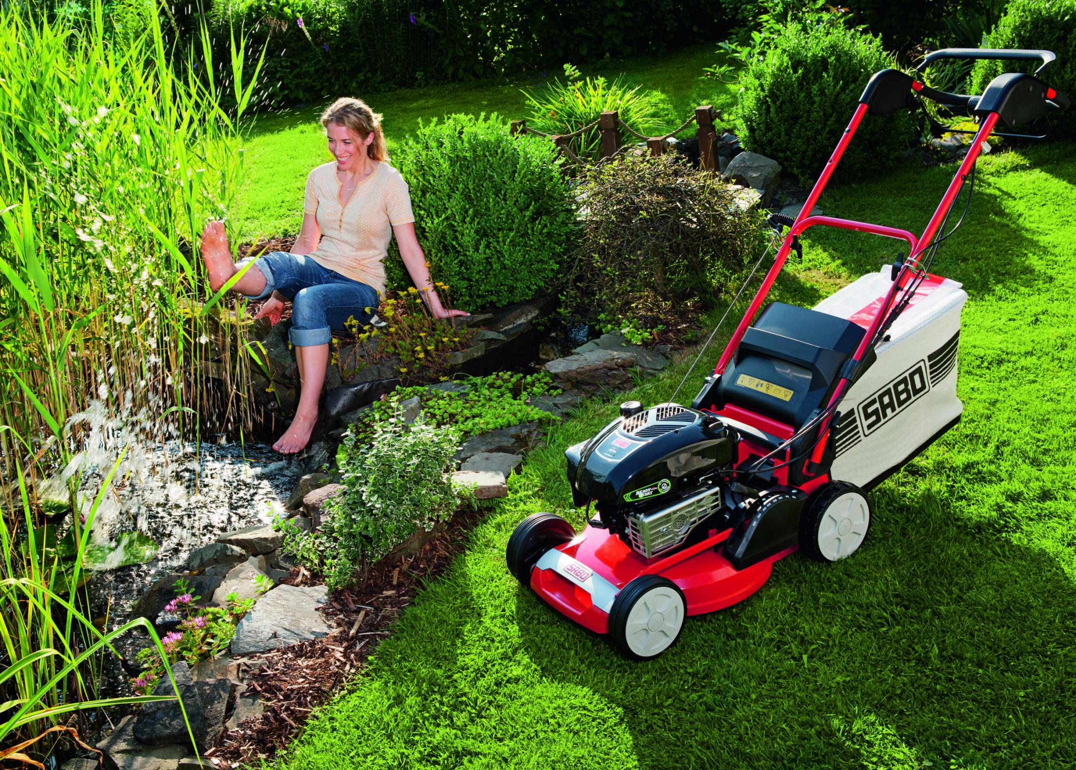 SABO Rasenmäher von Gartentechnik Nauroth
